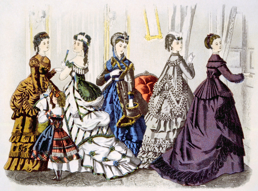1870 Women's Fashion