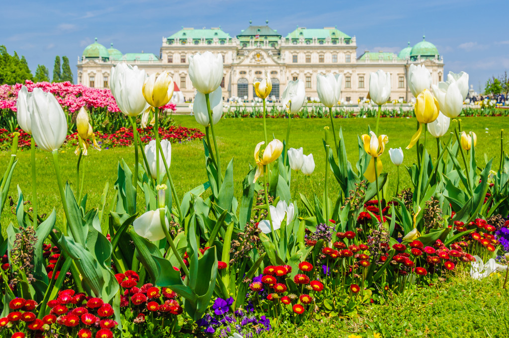 Belvedere Palace and Gardens, Austr