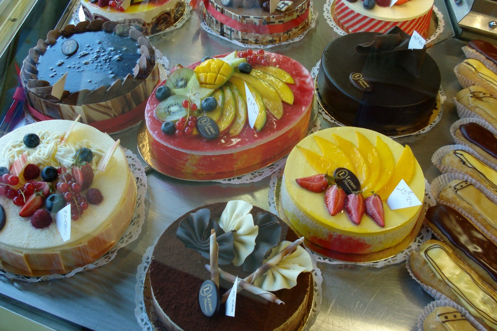 Cakes in Châlons-en-Champagn