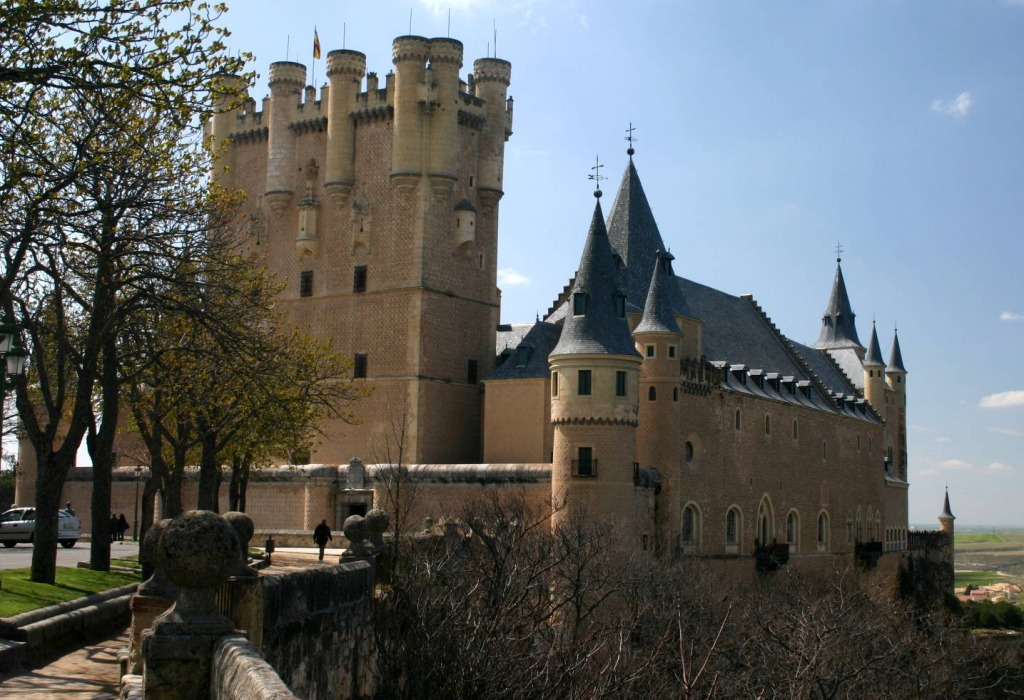 Castillo de Coco and Alcazar, Segovia, Spain