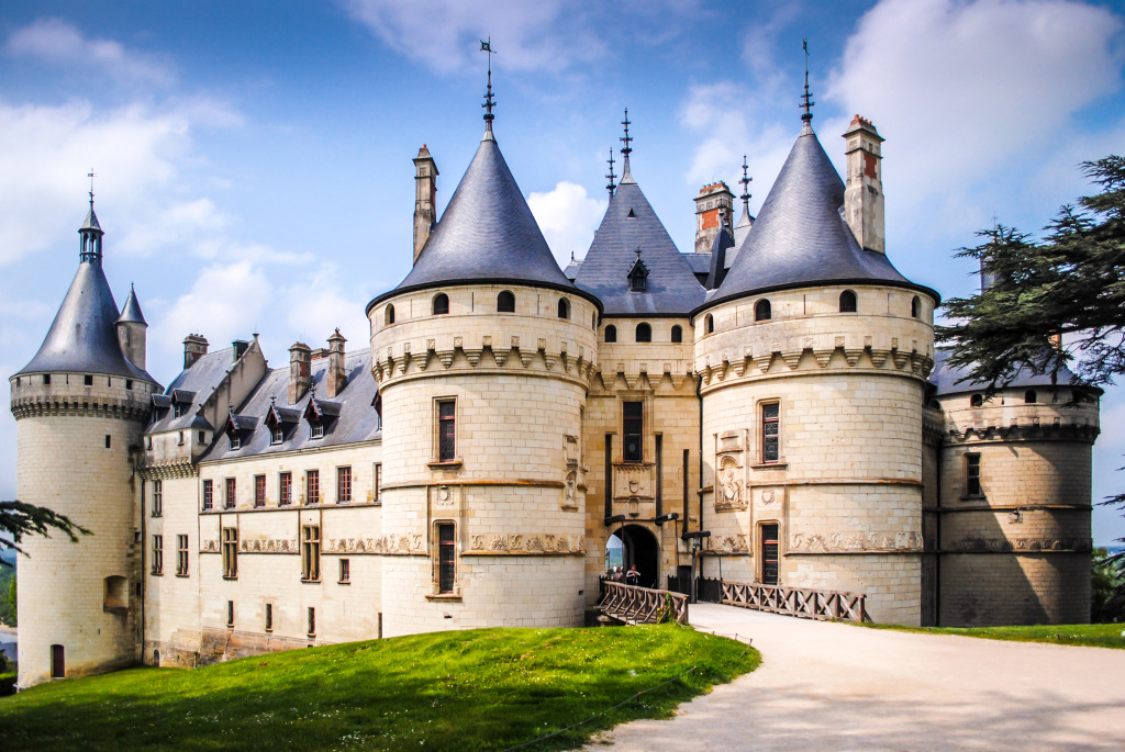 Castle Chaumont On Loire, Franc