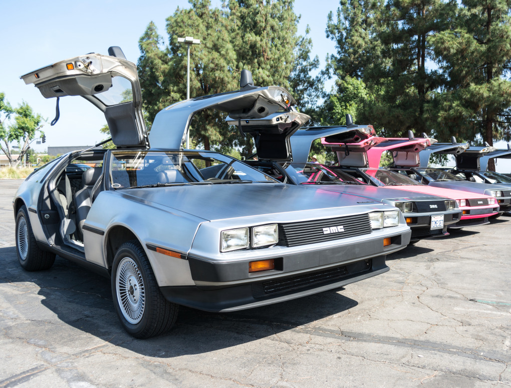 DMC De Lorean in Los An