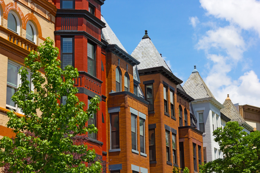Dupont Circle Row Houses, Washington DC