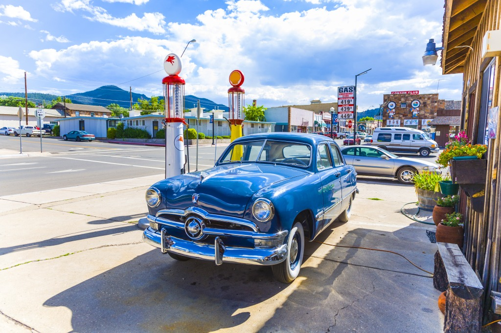 Filling Station in Williams, Route 66