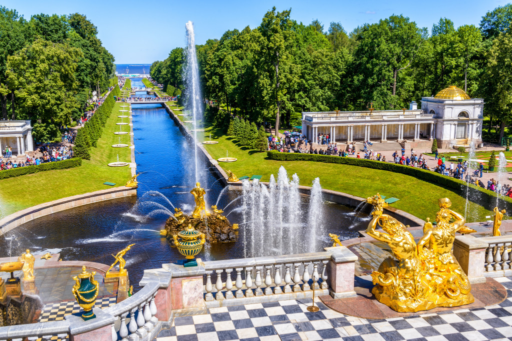 Grand Cascade at Peterhof Palac
