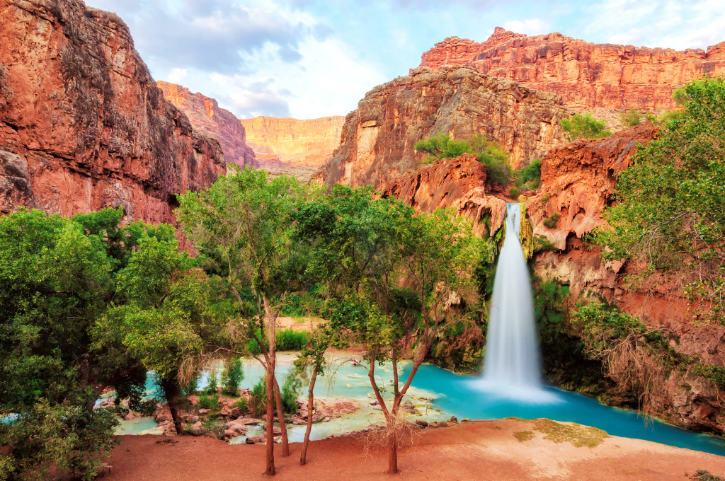 Havasu Falls in Arizon