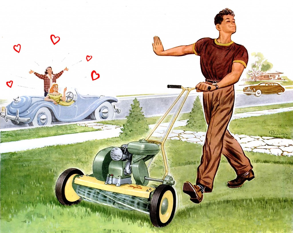 It's More Fun to Mow with Reo!