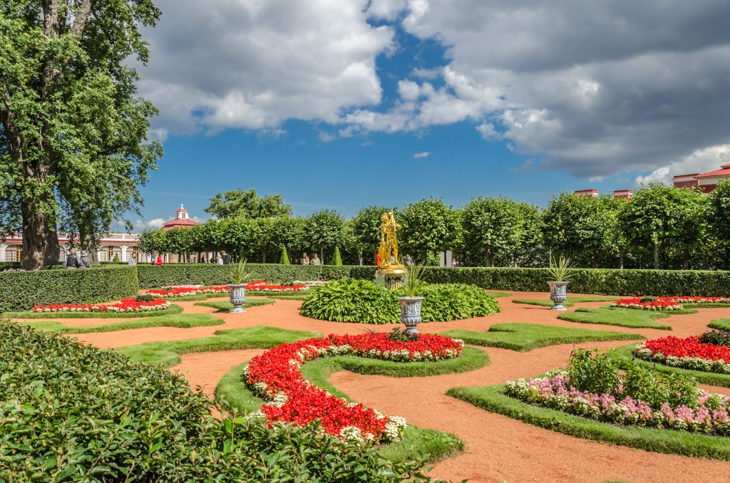 Monplaisir Garden, Lower Park of Peterhof