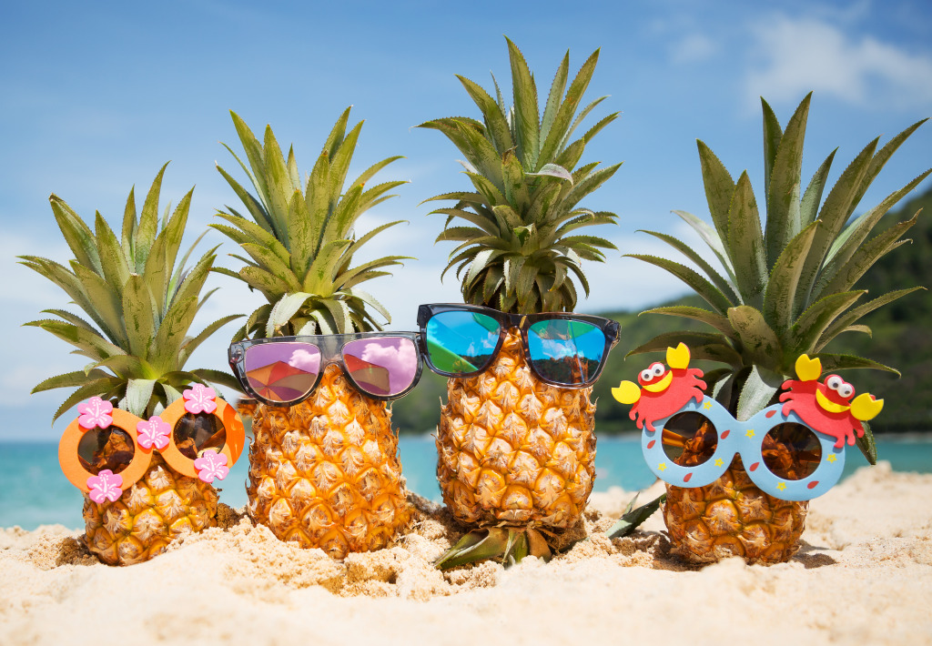 Pineapples on Vacation