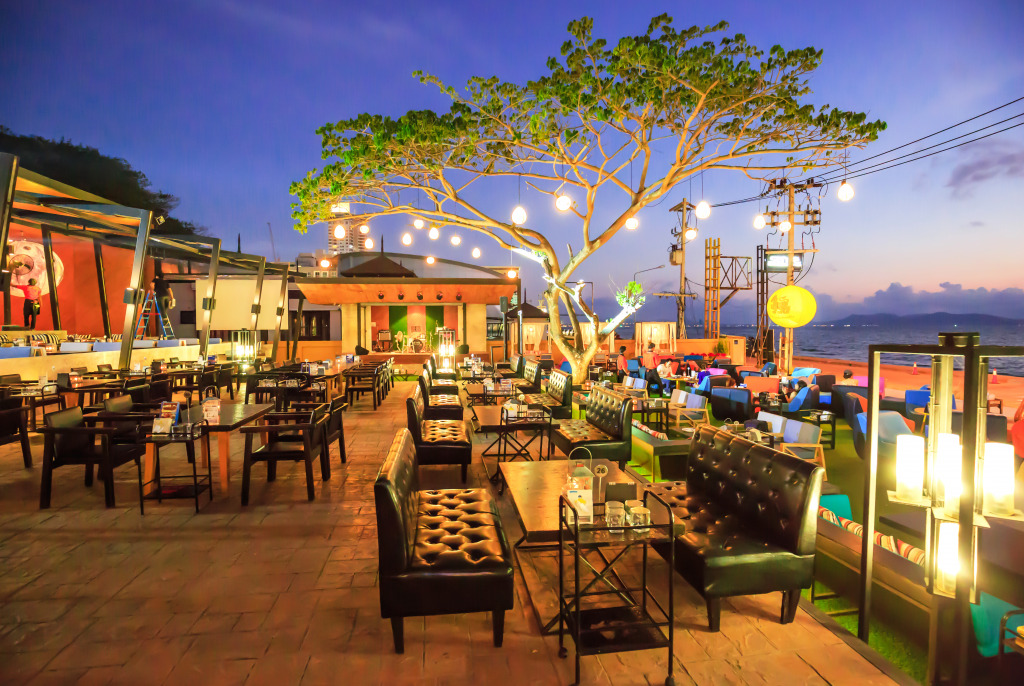 Restaurant in Pattaya, Thailand