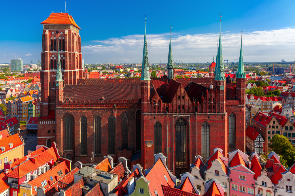 Saint Mary Church, Gdansk, Poland