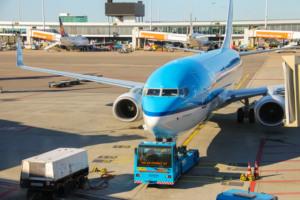 Schiphol Airport, Amsterdam, The Netherland