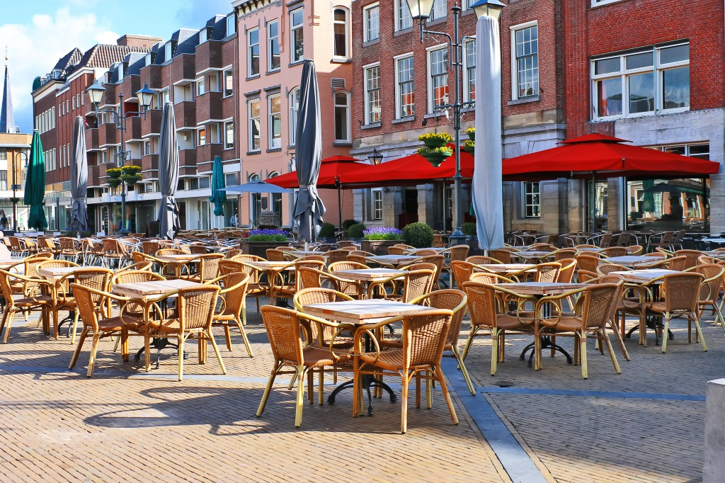 Street Cafe, Gorinchem, The Netherland