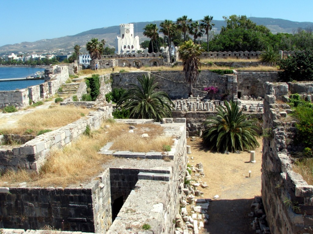The Castle of Kos, Greec