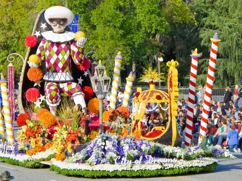 Tournament of Roses Parade in Pasaden