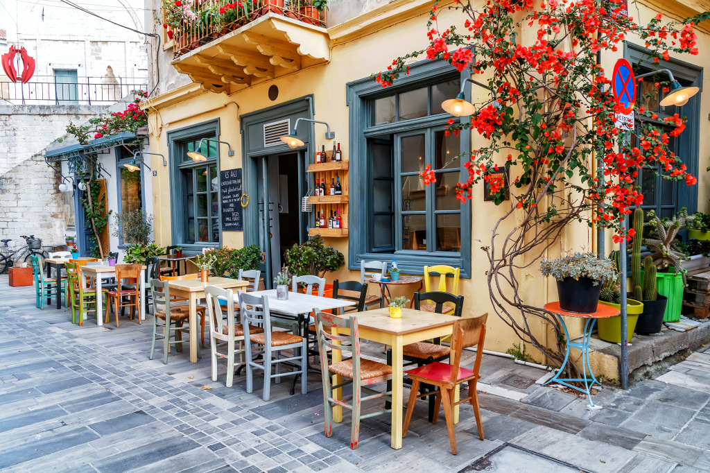 Traditional Tavern in Nafplio, Greec