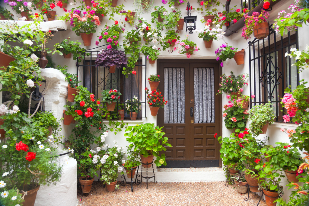 Typical House in Cordoba, Spain