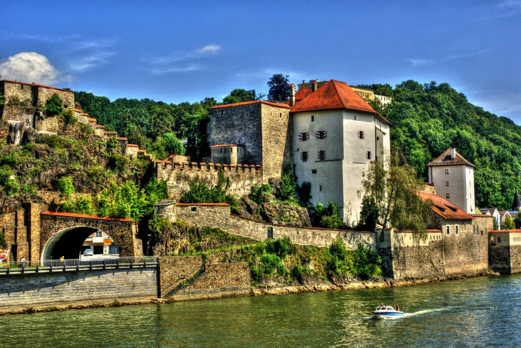 Veste Castle, Passau, Germany